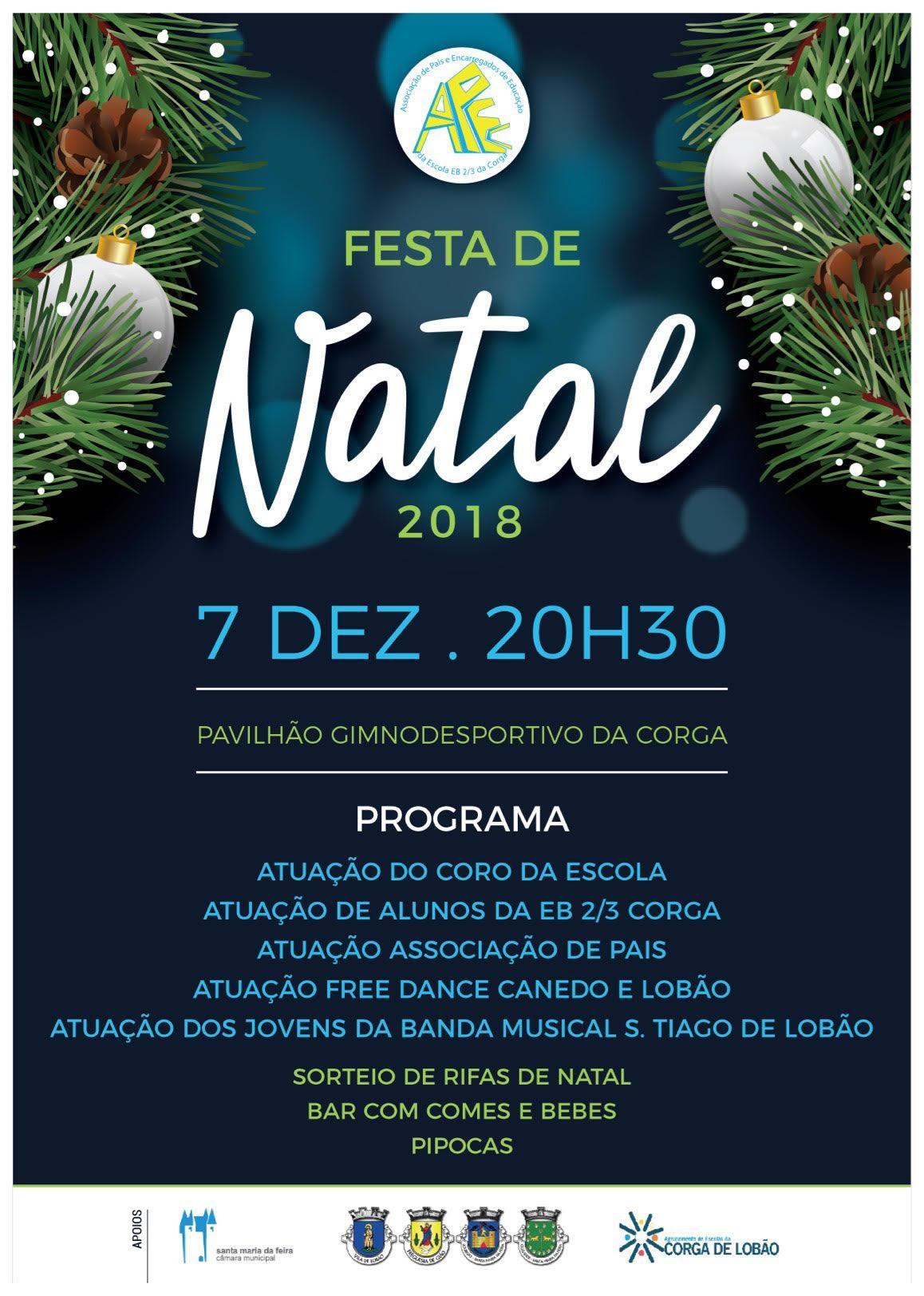 Festa de Natal - Escola Básica da Corga do Lobão