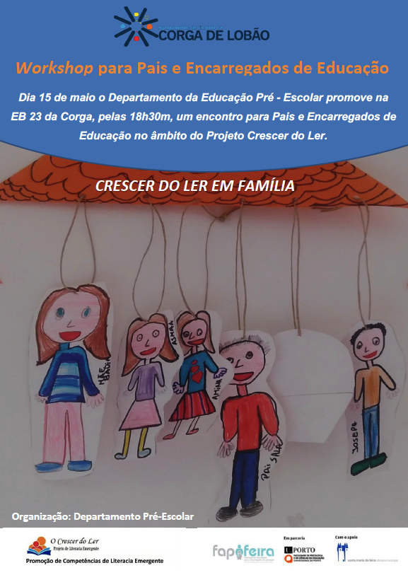 <font size=5><strong>Crescer do Ler em Família</strong></font>
